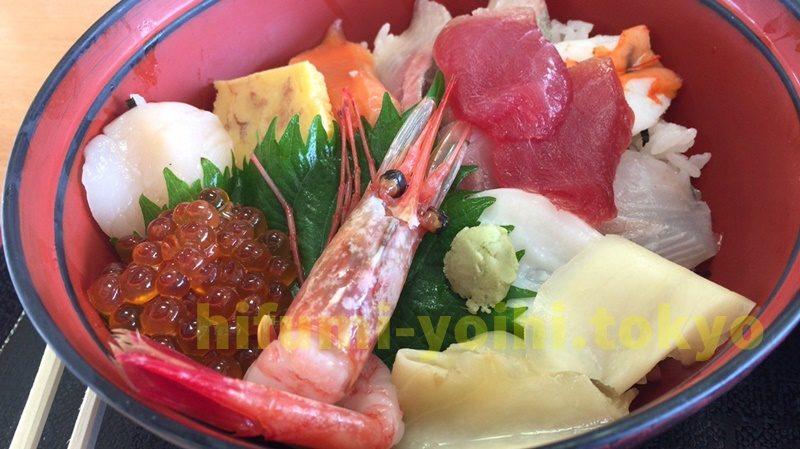 秋田 象潟 道の駅 ねむの丘 にかほっと 兄弟屋 海鮮丼